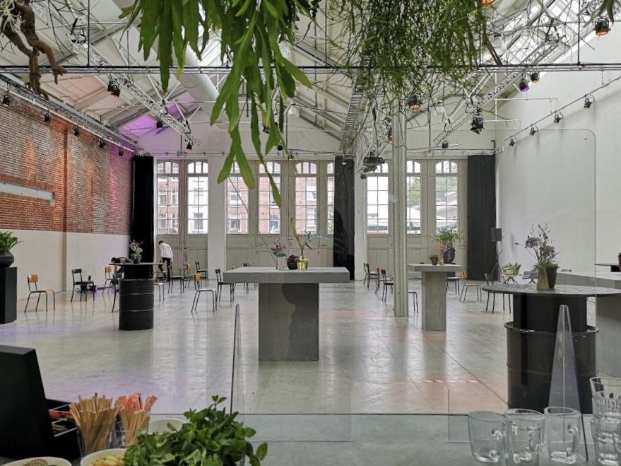 De Hallen Studio's uitvaart